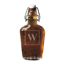 Personalized Swing Top Glass Flask
