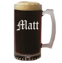 Personalized 25 oz Beer Mug