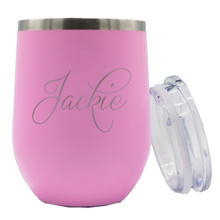 Personalized Insulated Wine Tumblers