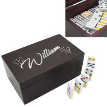 Custom Engraved Domino Set