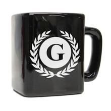 Custom Engraved Square Coffee Mug