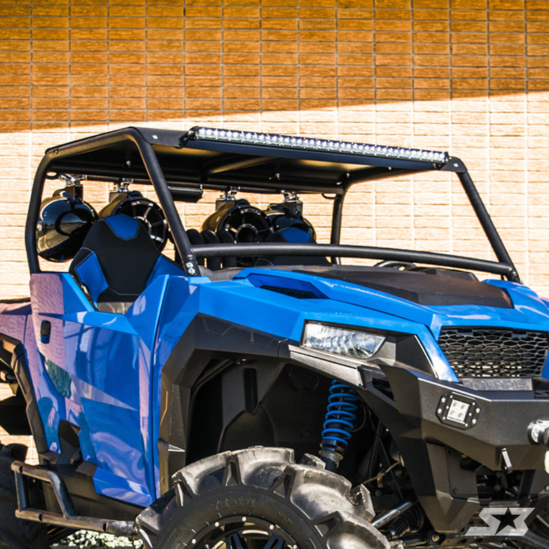 s3 power sports polaris general custom ab pillar cage s3 power sports. Black Bedroom Furniture Sets. Home Design Ideas