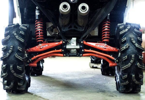 S3 Power Sports Can-Am Maverick X xc High Clearance Radius Rods