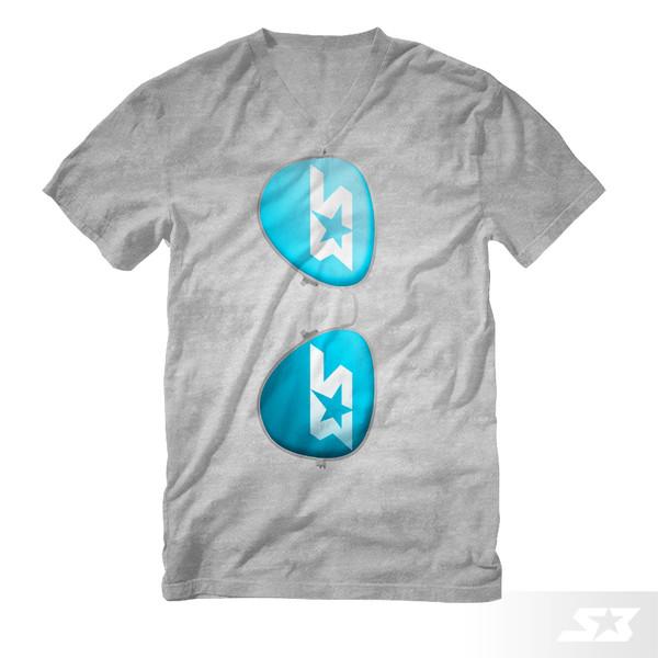 S3 Power Sports Aviators T-Shirt