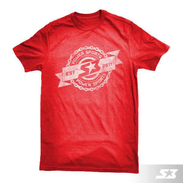S3 Power Sports Vintage Logo T-Shirt
