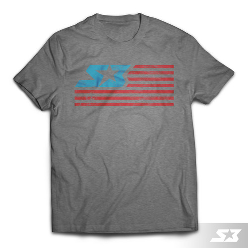 S3 Power Sports S3 Nation T-Shirt, Limited Edition