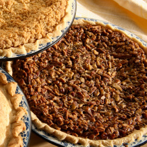 Full of butter and fresh eggs, this sweet and rich pie is topped off with crunchy pecans and baked into our homemade pie crusts. Eat it warm and topped off with a dollop of ice cream or whipped cream! Pies will arrive pre-baked and frozen in an insulated shipping cooler. Simply thaw in the oven and your home will be filled with the sweet scent of our Amish bakery. Instructions are included.  Baked and shipped from Ohio's Amish Country.   Available as 9 inch pie.