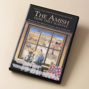 """Ever wondered how the Amish can live so simply - and why they choose to do so? You'll find the answers in this first-ever documentary-style film produced about the Amish population of Holmes County, Ohio. More than beautiful cinematography of the tranquil rolling countryside, this DVD provides an unprecedented look into the beliefs and the customs of the Amish. Filmmaker Burton Buller has created an accurate and positive portrait of the Amish, narrated oftentimes by off-camera Amish individuals, and he has put to rest Hollywood stereotypes and media misconceptions. Buller's film captures the essence of """"a kinder, gentler"""" lifestyle, while offering an understanding of why millions of visitors are drawn to the area time and again.  Run time: 49 minutes"""