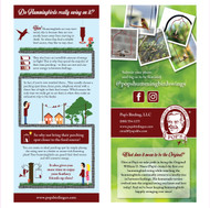 Rack Cards - Pack of 25 Free with Every Order (1pk per order)