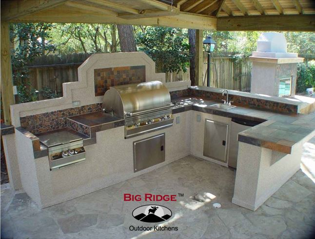 exceptional Pre Built Outdoor Kitchen Islands #9: Big Ridge Outdoor Kitchens