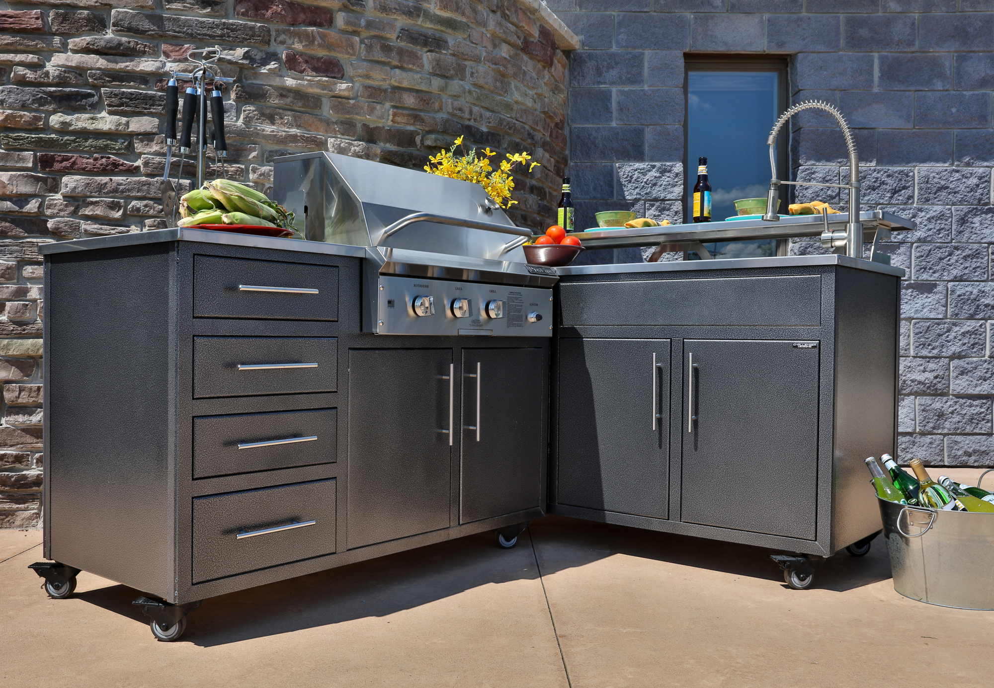 Permalink to 23 nice photos of Modular Outdoor Kitchen