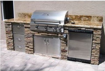 Big Ridge Brighton 9' Aluminum Outdoor Kitchen Package