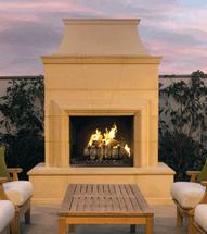 AFD022 Cordova Outdoor Premium Fireplace