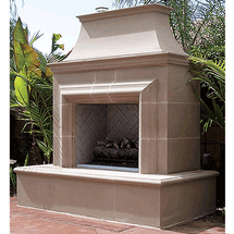 AFD023 Reduced Cordova Outdoor Premium Fireplace