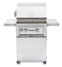 Sedona By Lynx L400FR 24-Inch Freestanding Gas Grill With Two Stainless Steel Burners & Rotisserie