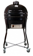 Primo PRC774306 Primo Oval JR Smoker BBQ Grill And Cradle Package