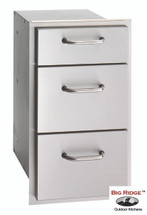 Fire Magic 33803 Select 14 Inch Triple Drawer