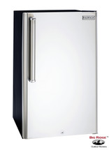 Fire Magic 3590-DR 4.2 Cu. Ft. Premium Compact Right Hinge Refrigerator - Stainless Steel Door / Black Cabinet