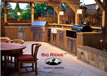 Big Ridge Belle Fontaine Aluminum Outdoor Kitchen Package