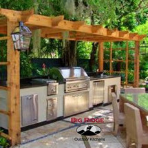 Big Ridge Montgomery 13' Aluminum Outdoor Kitchen Package