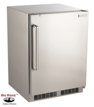 Fire Magic 3589DR 24-Inch 6.5 Cu. Ft. Right Hinged Outdoor Built-In Stainless Steel Refrigerator