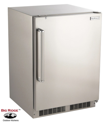 Fire magic 3589 dr 24 inch 6 5 cu ft right hinged for Outdoor kitchen refrigerators built in
