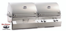 Fire Magic A830i-5EAN-CB Aurora Built In Gas And Charcoal Combo Grill