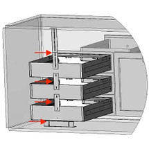 Lynx LMDKIT Modular Drawer Kit For LMD Modular Drawers Required To Stack Single Drawers