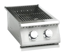Summerset SIZSB-2 Sizzler Built-In Propane Or Natural Gas Double Side Burner