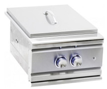 Summerset SSPB-1 TRL Built-In Propane Or Natural Gas Power Burner W/ Stainless Steel Lid