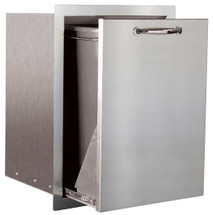 Summerset SSTD-1  24-Inch Stainless Steel Flush Mount Roll-Out Trash Drawer