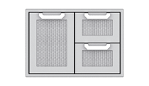 Hestan AGSDR30 30-Inch Double Drawer And Single Storage Door Combo