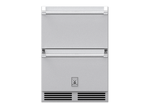 Hestan GRR24 24-Inch 5.2 Cu. Ft. Outdoor Rated Refrigerator Drawers