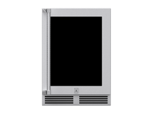Hestan Glass Door Dual Zone Refrigerator with Wine