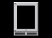 Hestan Glass Door Dual Zone Refrigerator with Wine