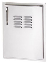 Fire Magic 33920-1-SR Select 21 Inch Right Hinged Single Access Door With Louvers