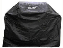 Fire Magic 5110-20F Grill Cover For Legacy Deluxe Gas Grill On Cart With Shelves Up & Side Burner