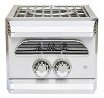American Muscle Grill AMGPB 60,000 BTU Cast Stainless Duel Power Burner