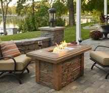Outdoor GreatRoom Company SL-1224-M-K Sierra Linear Gas Fire Pit Table