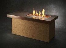 Outdoor GreatRoom Company ART-1224-BRN-C Artisan Gas Fire Pit Table