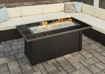 Outdoor GreatRoom Company MCR-1242-BLK-K Monte Carlo Fire Pit Table