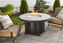 Outdoor GreatRoom Company GC-48-BLK-K Black Grand Colonial Fire Pit