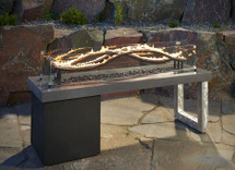 Outdoor GreatRoom Company WV-56 The Wave Fire Table