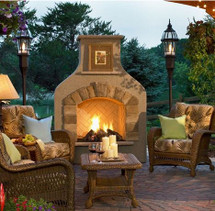 Outdoor GreatRoom Company SONFS42-M Sonoma Gas Fireplace In Mocha