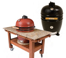 "Saffire 162-SGUB19-CG 19"" Bronze Series Onyx Black Or Jasper Red Kamado Grill"