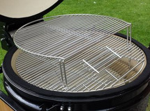 "Saffire 162-SGES19-SCG Stainless Steel Secondary Cooking Grid For 19"" Grills"