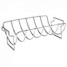 Saffire 162-RRNS Stainless Steel Rib & Roast Rack