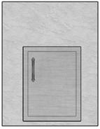 """28"""" Mod Single Door"""