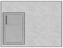 """48"""" Mod Single Door"""