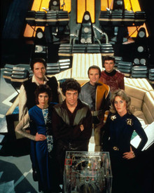 Cast in Blakes 7 Poster and Photo
